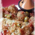 Boulettes de veau épicées aux olives