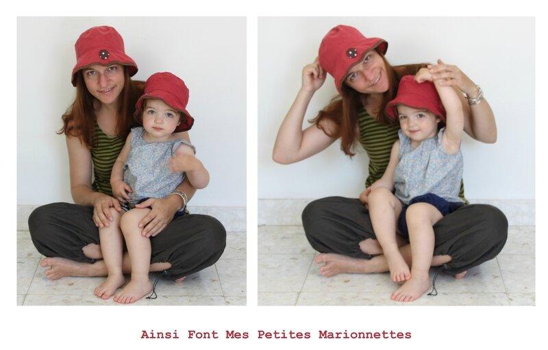 chapeau filles
