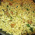 Crozets aux pleurotes, aux noix et au persil plat