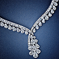 Magnificent diamond necklace, van cleef & arpels
