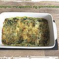 Lasagnes aux épinards ( 400 cal/ par personne)