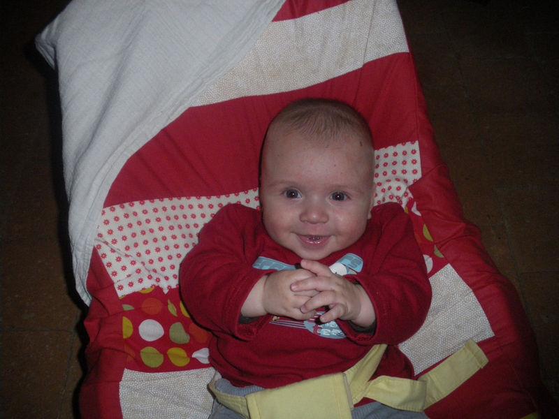Jules 3 mois et demi