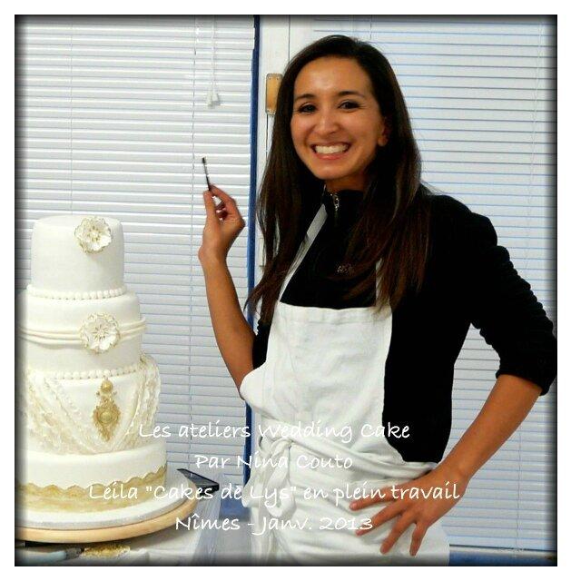 atlier wedding cake Nina Couto 1
