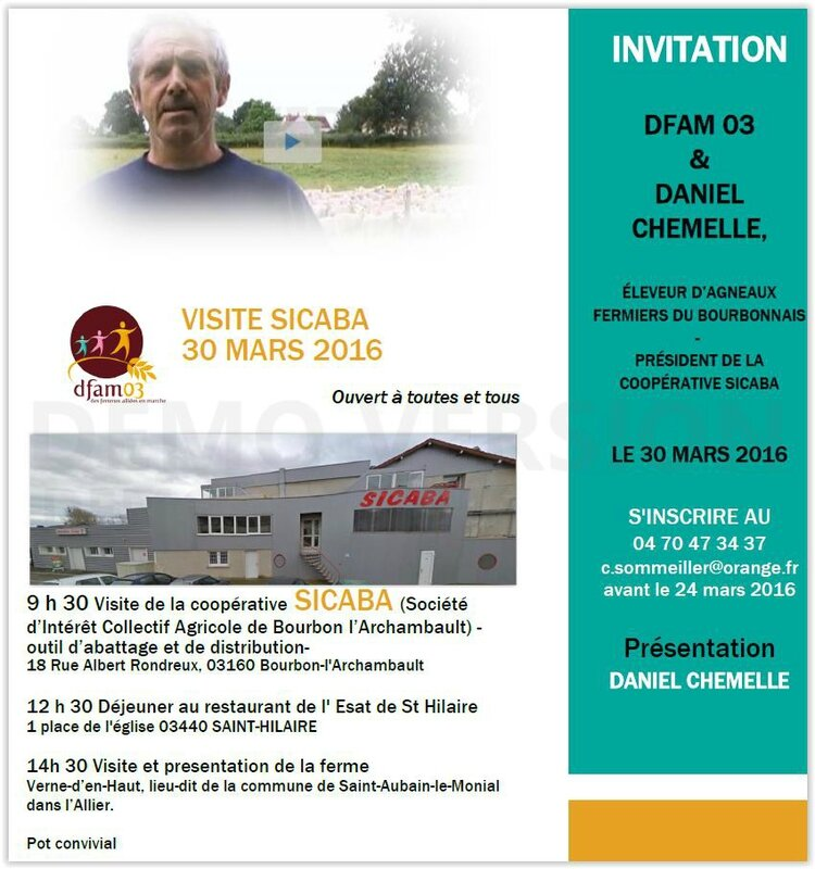 invitation SICABA