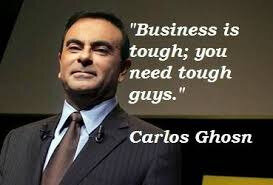 carlos ghosn tough