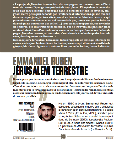 jerusalem terrrestre catalogue 2