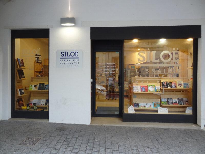 Librairie siloë à la Rochelle