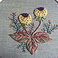 fleur novembre La Fée Pirouette Herbier