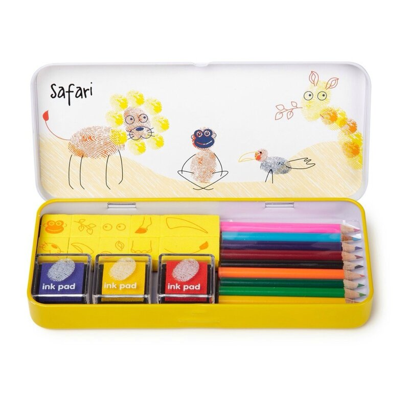 Set coloriage safari WORLDWIDE CO