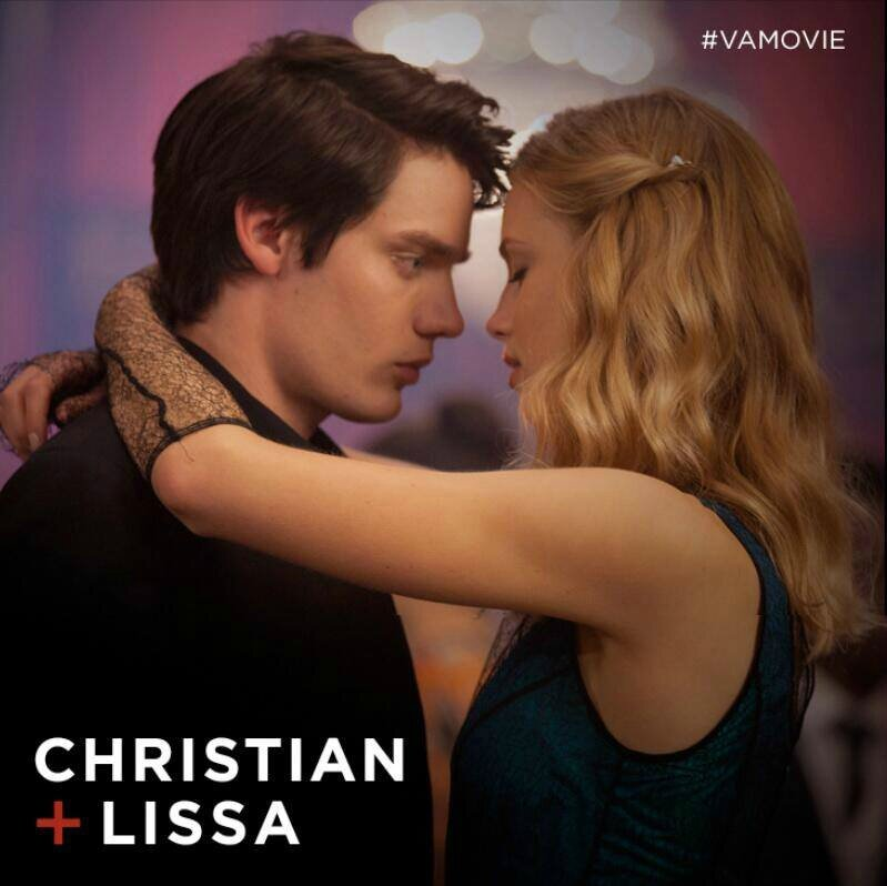 Christian and Lissa Vampire Academy movie