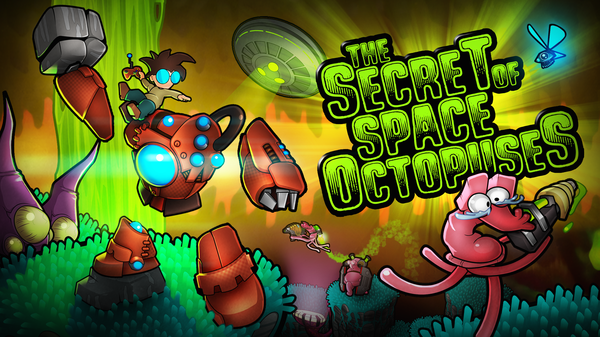 Illustration The Secret of Space Octopus OUYA