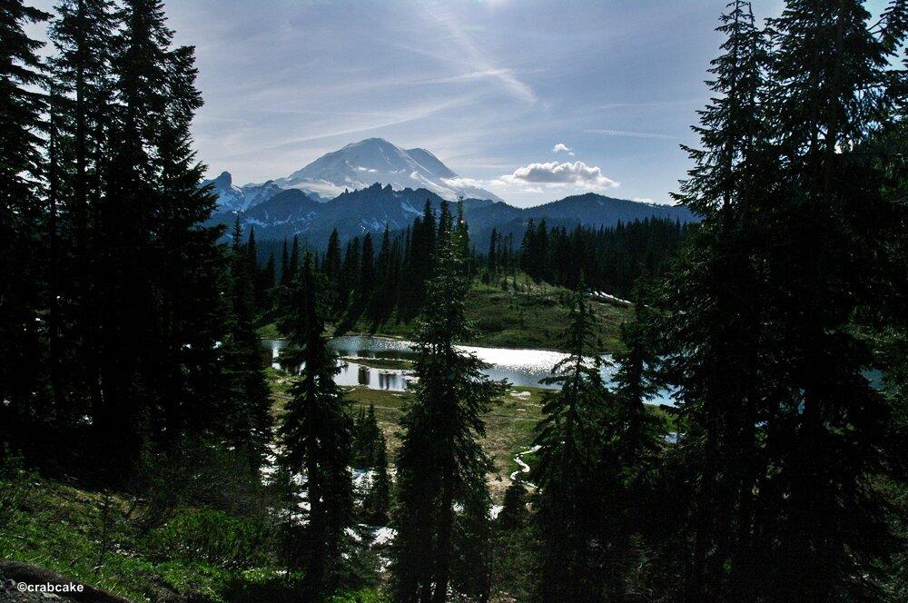 Tipsoo Lake Mount Rainier