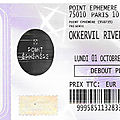 Okkervil river - lundi 1er octobre 2018 - point ephémère (paris)