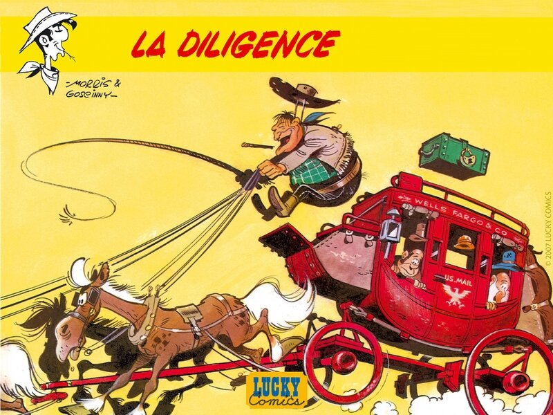 Lucky Luke Wells Fargo
