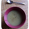 Soupe d'endives qui réchauffe les froides soirées d'hivers !