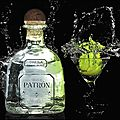 Tequila silver - patron - + video