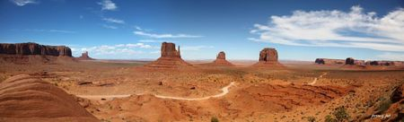 monument valley visitor center panoramic
