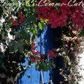 porte bleue en grèce