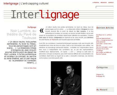 interlignage