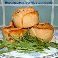 Mini tartelettes soufflées aux morilles