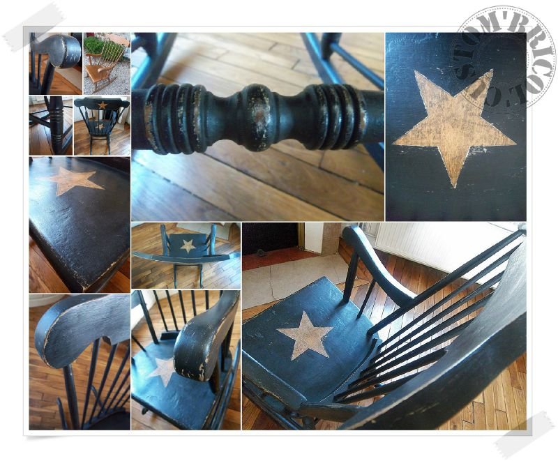 Rocking chair MONTAGE