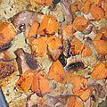 Boulettes de porc au citron, aux légumes et aux épices douces