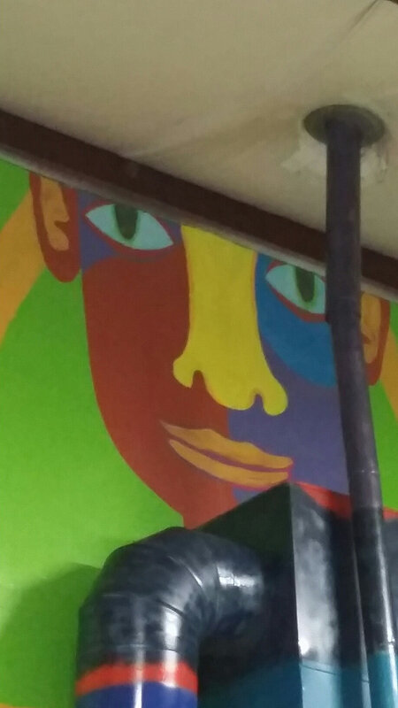 Mural for the Lincoln City ReStore