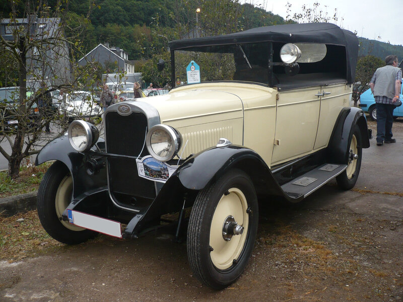 CHEVROLET National torpédo 1928 Malmedy (1)