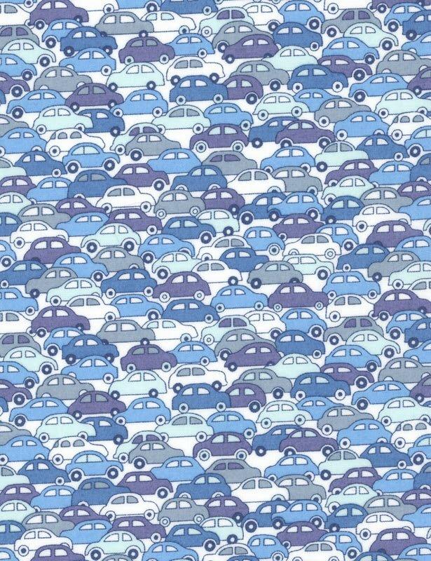 363 9172 B - Cars bleu