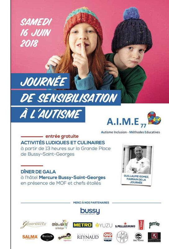 affiche journée sensibilisation autisme bussy