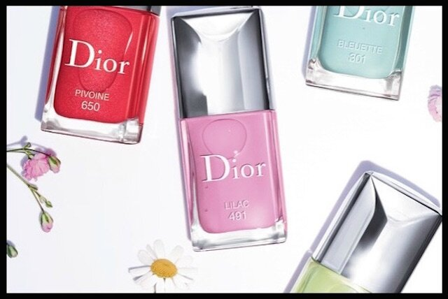 dior glowing gardens vernis ongles