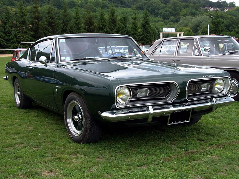 plymouth barracuda formula  fastback coupe  oldiesfan mon blog auto