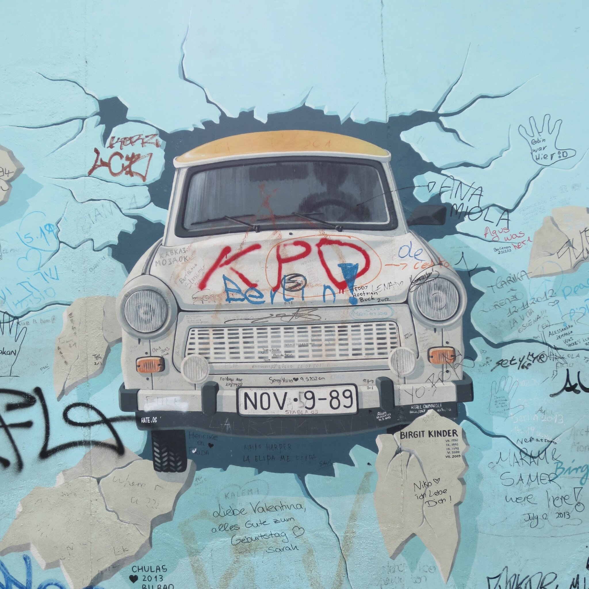 Berlin, the wall