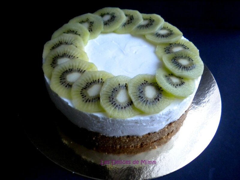Cheesecake kiwi-citron 3
