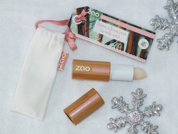 4 Trio Soin Lèvres Zao Baume Huile Soin Gommage Ma Bulle Cosmeto