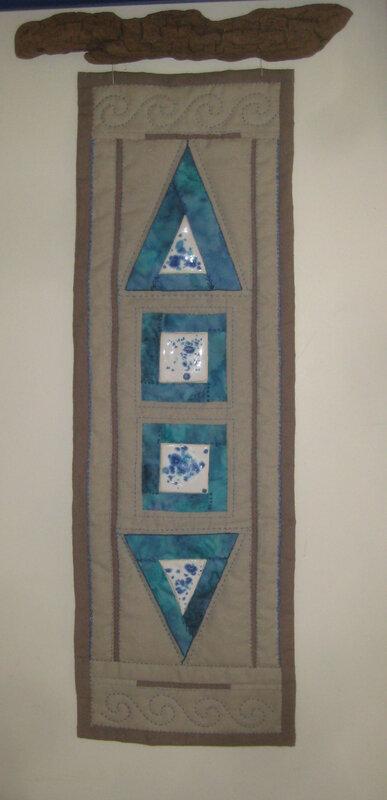 panneau terre et textile