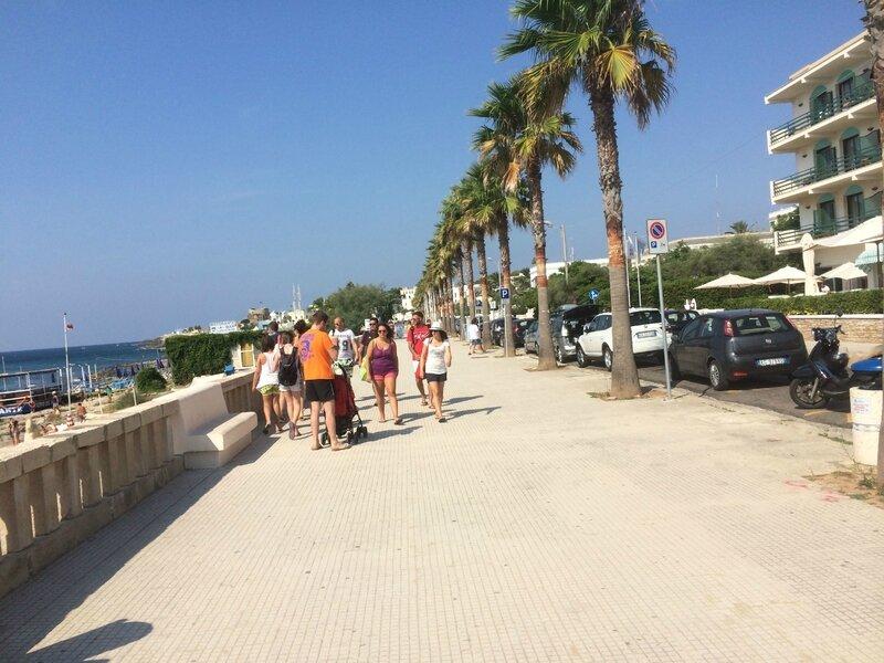 La promenade de Santa Maria di Leuca, 130815