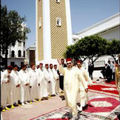 أمير المؤمنين الملك محمد السادس يؤدي صلاة الجمعة بمسجد الحسن الثاني بتطوان