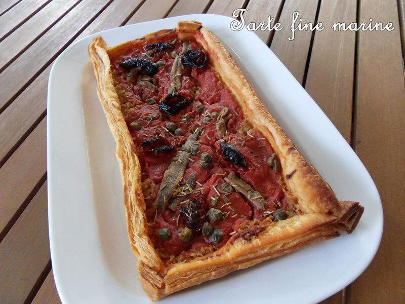 tarte fine marine