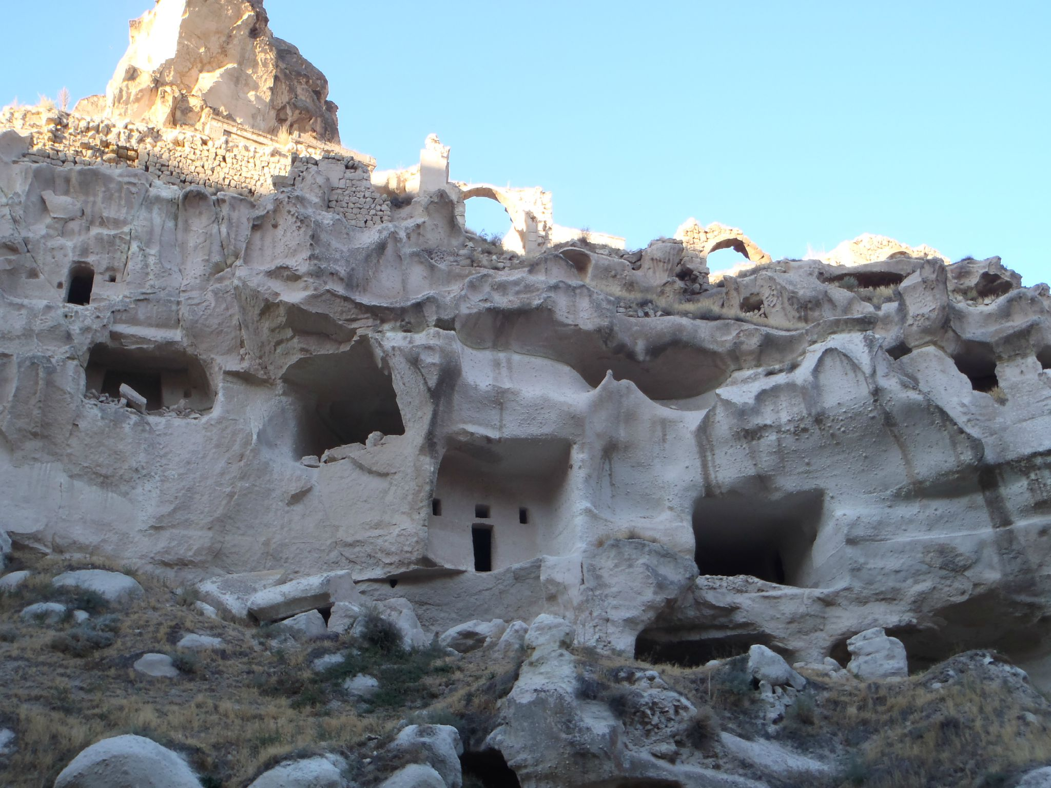 turquie cappadoce ortéhisar la restauration est impossible