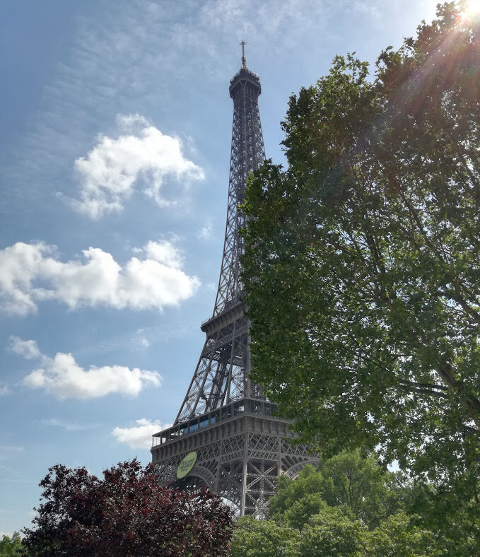 Mes vacances à Paris