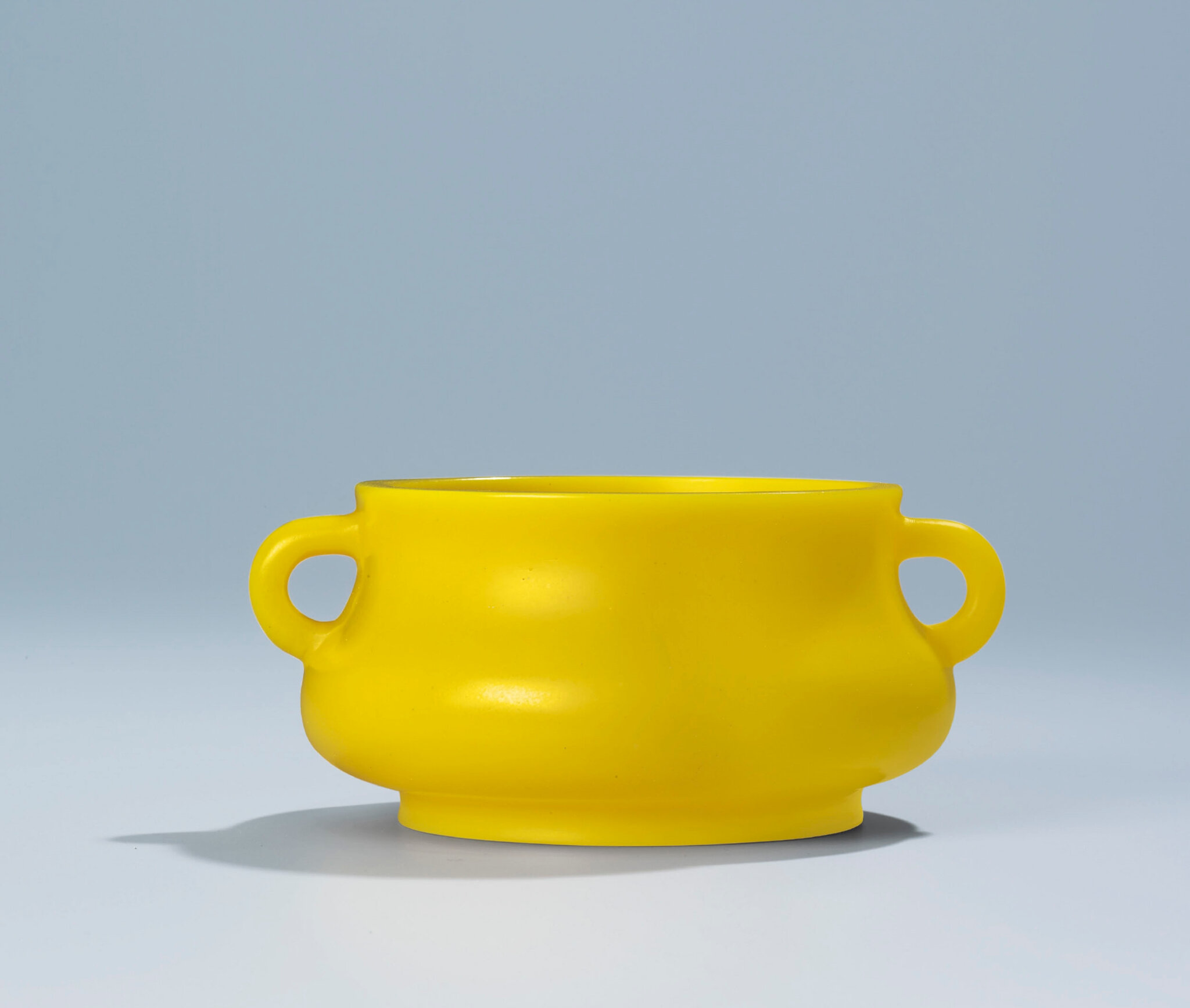 A fine and very rare Imperial yellow glass censer Qianlong incised four-character mark within double squares and of the period ------WebKitFormBoundaryXlVCzj1woNiGWwag Content-Disposition: form-data; name=