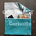 Sac Pochette Cravate - Couture - Fait main - Little Curiosité (1)