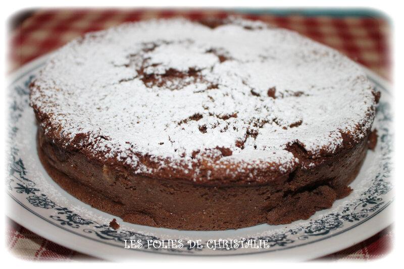 Cheesecake chocolat ss pâte 9