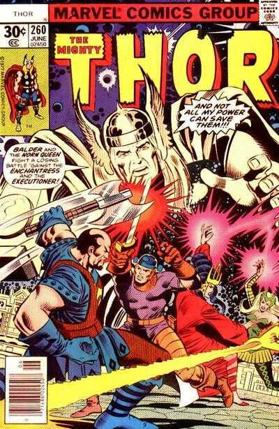mighty thor 1966 260