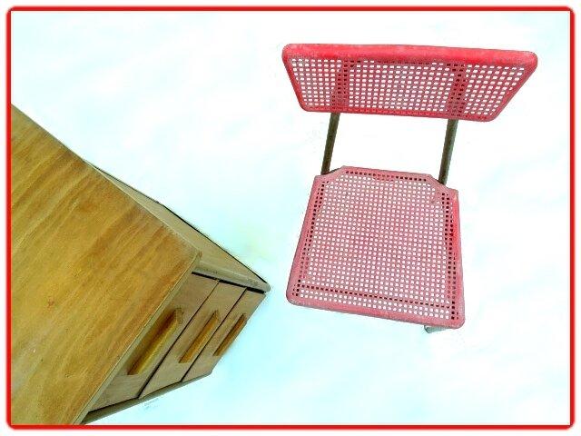 bureau vintage chaise Hitier