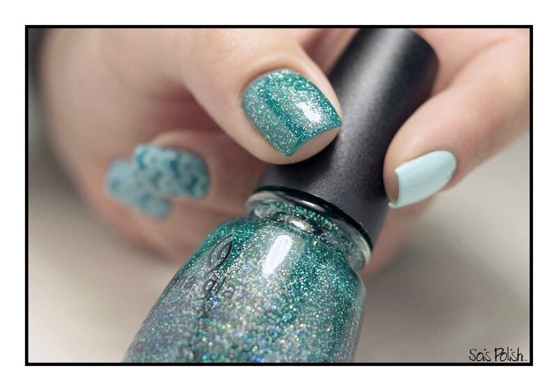 Frenz Nail China Glaze Stamping Moyou Sois Polish