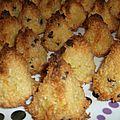 Rochers coco ou congolais aux pépites de chocolat