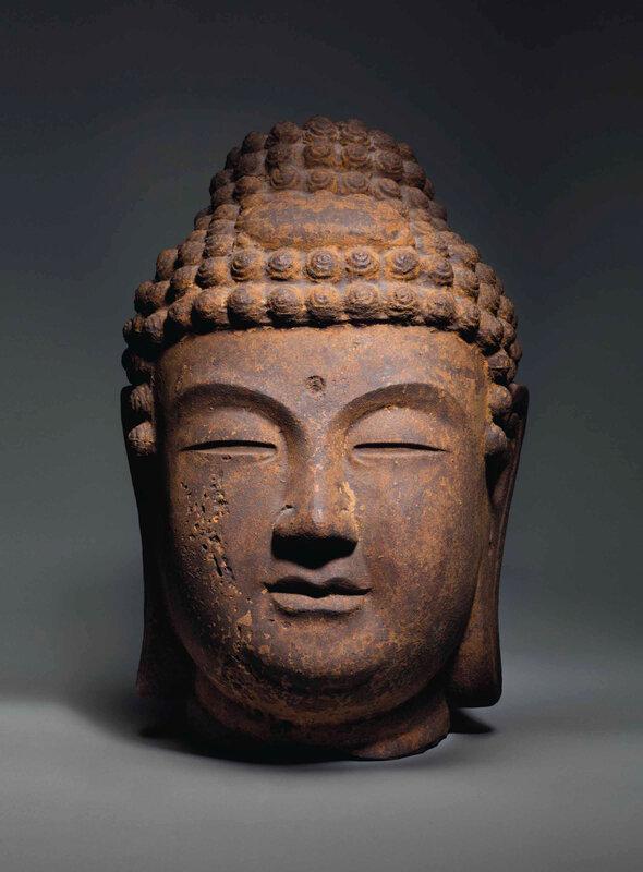 2016_NYR_11930_0094_000(a_large_cast_iron_head_of_buddha_goryeo_dynasty)