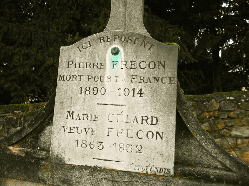 inscription stèle Pierre Frécon